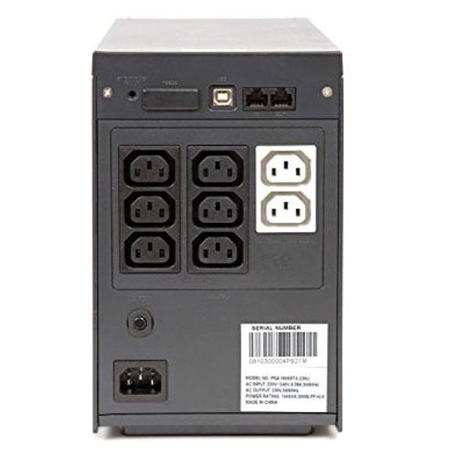 mặt sau UPS liebert PSA1000RT-230U