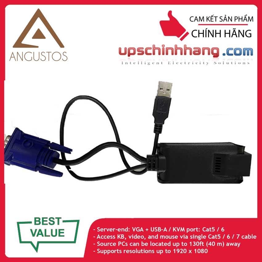 ANGUSTOS ADG-100U - VGA USB KVM Dongle